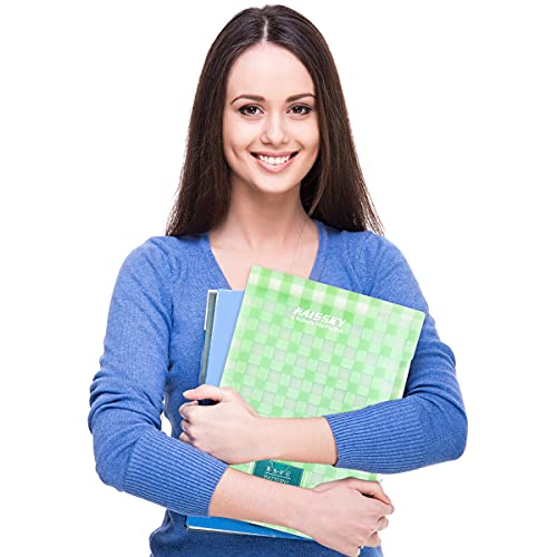 Expanding File Folder 6 Pockets, Guzack Accordion Document Folder Organizer A4 Letter Paper File Organizer Pockets with Buckle Closure, Plastic Expandable File Folders for School Office Home Photo #4