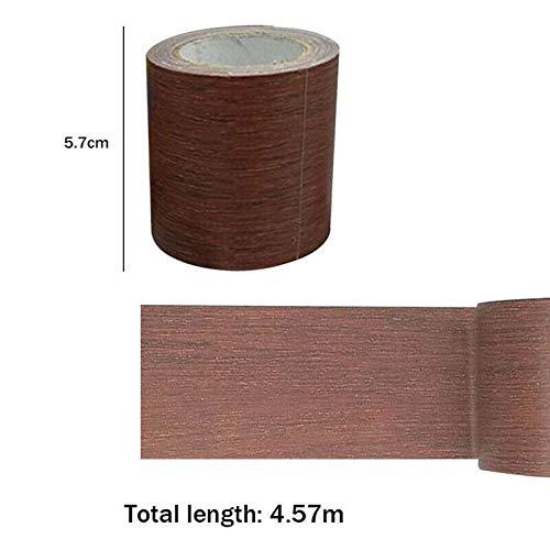 Tabanlly - Cinta adhesiva decorativa para reparación de conductos de madera