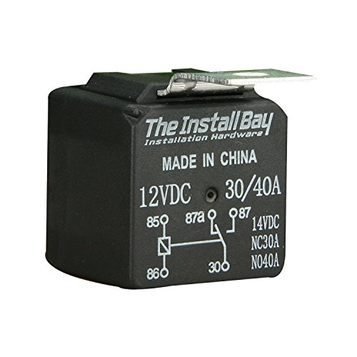 Install Bay Economy Relay 12 Volt 30 and 40 Amp Each- RL3040