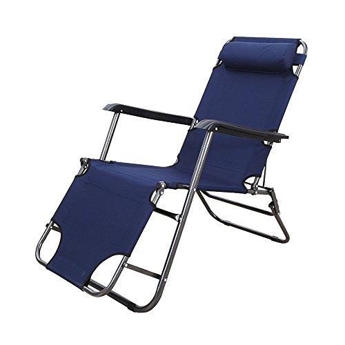 ch-AIR Chaise Longue à Bascule Pliable Zhaizhen pour Le déjeuner, la Sieste, Le Balcon, la Maison, la Plage, pour l'extérieur