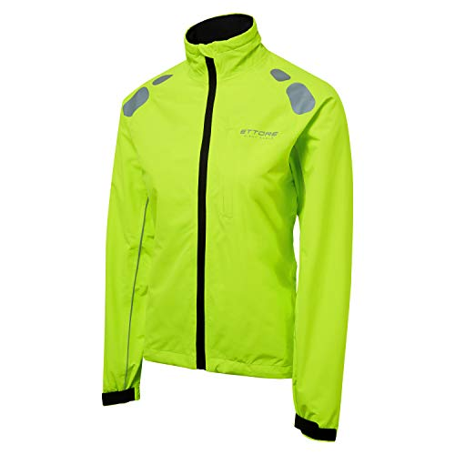 41GlRiXADdL. SS500  - Ettore Ladies Cycling Jacket Waterproof Breathable High Visibility Yellow - Night Eagle
