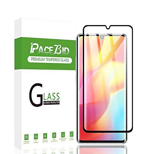 PaceBid Panzerglas Schutzfolie Kompatibel mit Xiaomi Mi Note 10 Lite, Full Coverage, 9H Festigkeit, Anti-Kratzer, Ultra Klar, Blasenfrei,Fall Fre&lich Hartglas Bildschirmschutzfolie