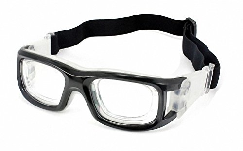 Ray Ron Sports Goggles Safety Protective Basketball Glasses for Adults with Adjustable Strap for Basketball Football Volleyball Hockey Rugby