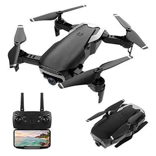 HR Drone With 720P HD Camera,Drone For Kids,Adults And Beginners,Foldable Quadcopter With Altitude Hold,Draw Path,2 Modular Batteries,Remote Control Toys Gifts For Boys And Girls