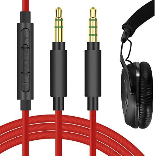 Geekria QuickFit Cable de Audio de Repuesto para Auriculares V-Moda Crossfade LP,...