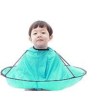 子供 散髪ケープ ヘアエプロン 散髪マント 刈布 ケープ 散髪道具 防水