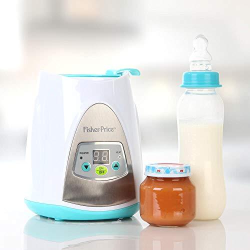 Aquecedor Digital de Mamadeira 110V Fisher Price- BB302, Multikids Baby, Azul/Branco, 110 V