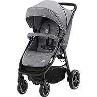 Britax Römer B-Agile M Stroller Pushchair, Birth to 4 Years (22kg), Elephant Grey