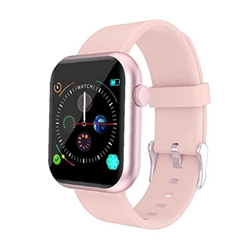 1.3 \'\' Full Touch Fitness-Uhr mit weiblicher Gesundheit Tracker Herzfrequenz-Meldung Benachrichtigung wasserdicht Outdoor-Sport Smartwatch für Android iOS-Telefone (Rosa)