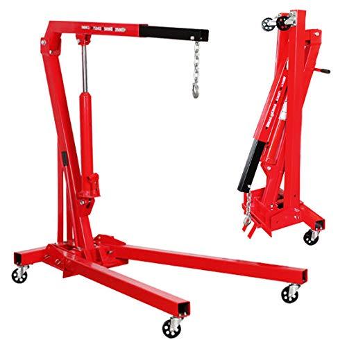 Grua plegable 1 tonelada para taller mecanico (1000kg)