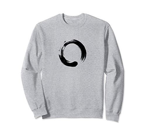 Enso, Zen, círculo, símbolo, budismo, Buda, meditación Yoga Sudadera