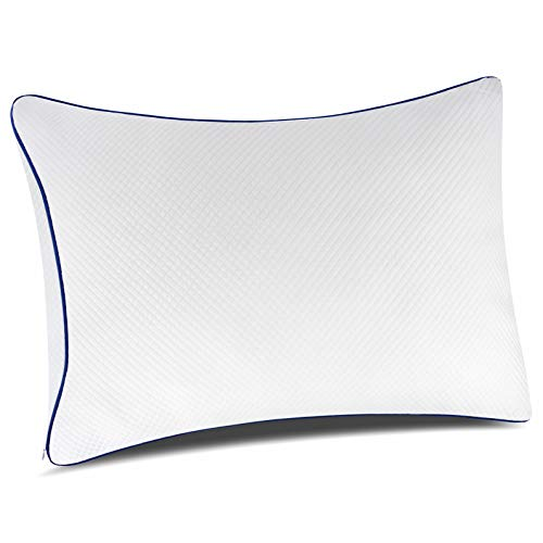 pillowLY Shredded Memory Foam Pillow For Neck Support & Pain Relief - 2...