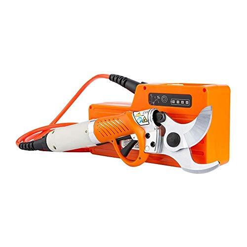LKNJLL Électrociseaux électrique Sécateur for Arbres fruitiers Jardin Ciseaux 36V 4400mAh Batterie au Lithium Élagage électrique Shear Orchard, 8-10 Heures de Travail