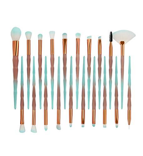 Theshy 20 StÜCke Make Up Pinsel Set Professionelles Schminkpinsel Kosmetikpinsel Lidschatten...