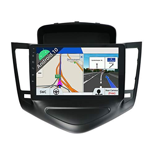 JOYX Android 10 Autoradio Compatibile Per Chevrolet Cruze (2009-2014) - [2G+32G] - 2 DIN - Telecamera Canbus Gratuiti - 9 Pollici IPS 2.5D - Supporto DAB 4G WLAN Bluetooth Carplay Mirrorlink Volante