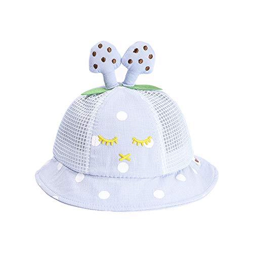 Kinderhut Sommer Neue Süße Kaninchen Pilz Baby Hut Schatten Sonnencreme Netz Hut Kinder Fischer Hut