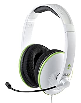 Turtle Beach Ear Force XL1 Amplified Wired Headset with Mic  White  - Xbox 360