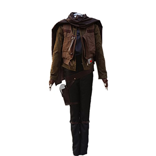 Jyn Erso Costume Rogue Clothing Halloween Cosplay Costume Adult Women Outfit Whole Set