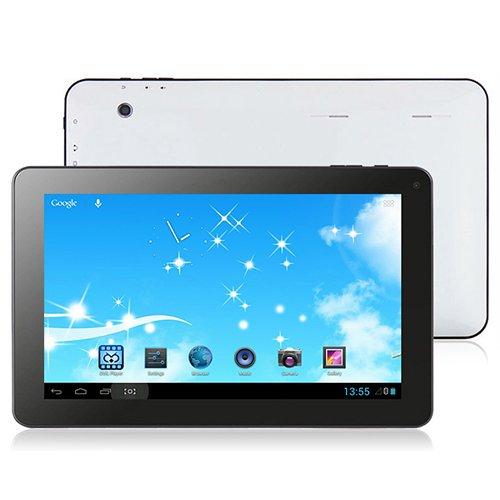 TurboTab 10,1 Zoll (25,7 cm) Tablet PC Quad Core CPU (8GB Speicher, 1GB RAM, 1024x600 Auflösung, 4 x 1,5GHz, 2x Kamera, Android 4.4 KitKat) by Technikware.at (8GB)