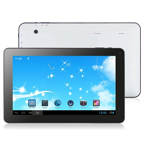 TurboTab 10,1 Zoll (25,7 cm) Tablet PC Quad Core CPU (8GB Speicher, 1GB RAM, 1024x600 Auflösung, 4 x 1,5GHz, 2x Kamera, Android 4.4 KitKat) by Technikware.at (8GB)