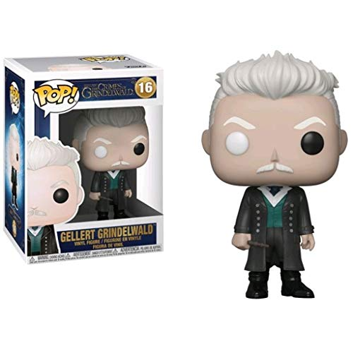 LTY YHP Pop Collectible! Fantastic Beasts - Gellert Grindewald Action Figure #16 Figurine for Home Display 3.9Inch Collection