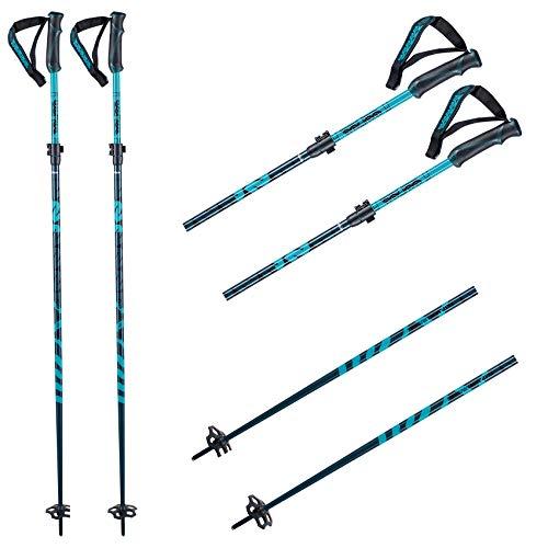 K2 Ski Unisex - Adultos Bastones de esquí Flipjaw Freeride