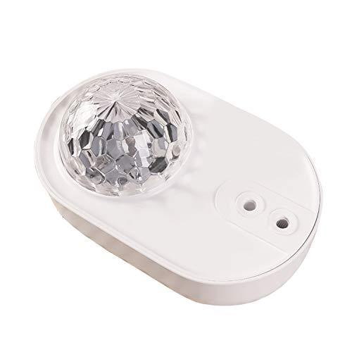 Space Ship Star Ocean Projector Light, reproductor de música con cambio de color de 10 modos, Bluetooth y control remoto que cambian la luz con música, adecuado para regalos para niños / familiares