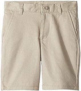 ノーティカ Nautica Kids キッズ 男の子 ショーツ 半ズボン Khaki Regular Flat Front Twill Shorts (Little [並行輸入品]