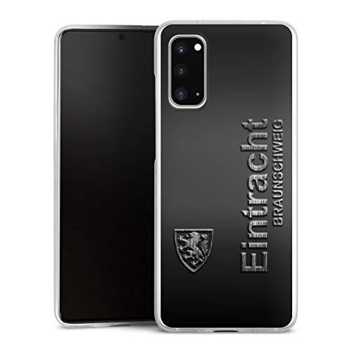 DeinDesign Hülle kompatibel mit Samsung Galaxy S20 Handyhülle Case Offizielles Lizenzprodukt Eintracht Braunschweig Fußball