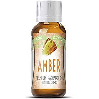 Amber Scented Oil by Good Essential  Huge 1oz Bottle - Premium Grade Fragrance Oil  - Perfect for Aromatherapy Soaps Candles Slime Lotions and More!