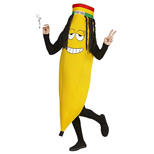 Widmann - Erwachsenenkostüm Rastafaria Banane
