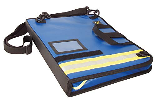 tee-uu BIG Einsatz-Organizer DIN A4 Hochformat (versch. Varianten) (blau Plane)