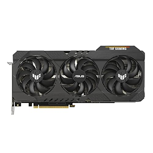 ASUS TUF Gaming NVIDIA GeForce RTX 3080 V2 OC Edition Grafikkarte (PCIe 4.0, 10GB GDDR6X, LHR, HDMI 2.1, DP 1.4a, doppelte Kugellager-Lüfter, Militärgrad, GPU Tweak II)