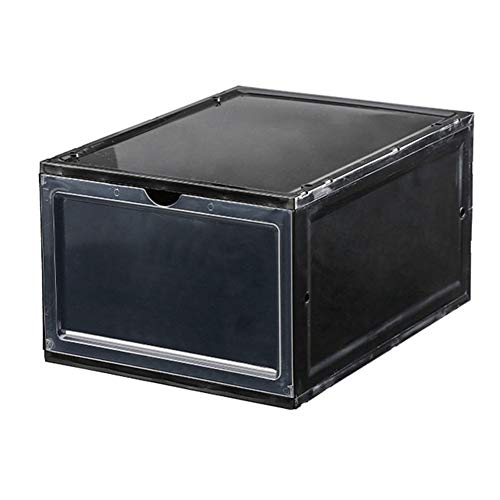 Doggo Stiefel Schuhplastik Aufbewahrungsbox Transparent Box Stapelbar Schubladen Organizer Home