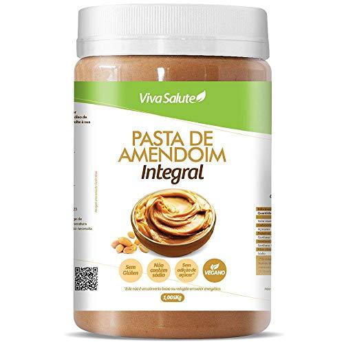 Pasta de Amendoim Integral Viva Salute - 1Kg