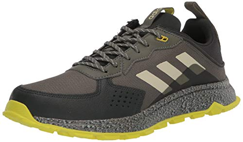 adidas Men's Response Trail Cloudfoam Regular Fit Running Sneakers Shoes, legacy green/sand/legend Earth, 12.5 M US