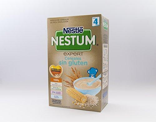 Nestlé - Papilla Nestum Expert Cereales sin Gluten Nestlé 4m+ 600 gr