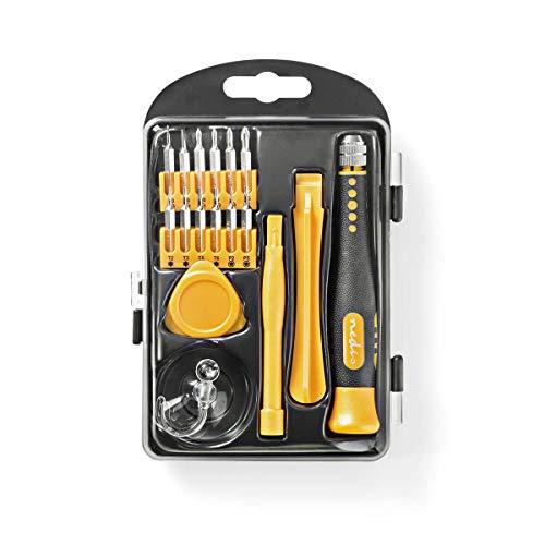 TronicXL Werkzeugsatz | 17-in-1 | zur PC-, Smartphone- und Tablet-Reparatur Werkzeug Set Handy Profi