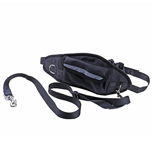 PRECORN Gürteltasche Haustier Hüfttasche Leckerlitasche Joggingleine mit Bauchgurt Hundetasche