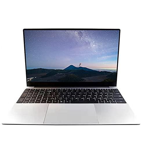 Ordenador portátil de 15,6 pulgadas, Full HD 1920 x 1080, Intel Celeron J4125/J4115 Quad Core, 8 GB de RAM 128 GB SSD, Windows 10 Pro OS, Microphone, Wi-Fi, Entertainment Laptop