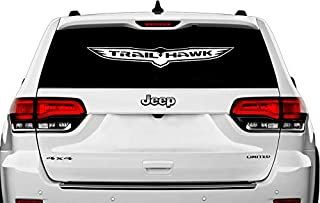 TrailHawk decal sticker for Jeep Grand Cherokee SRT Hellcat (multisize)
