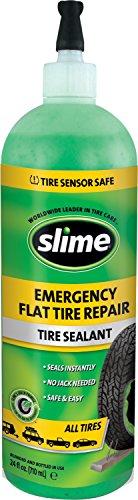 Slime 10164 Emergency Tire Repair Sealant, 24 oz. (All Highway Tires)