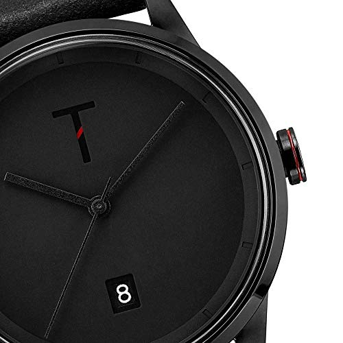 Tylor Watches Men's Cali Vibe Tlab006 Ανδρικο Μαυρο Ρολοι Quartz