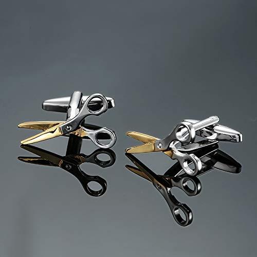 jiao Style Black Propeller Manschettenknöpfe für Herren Shirt Markenanzug Manschettenknöpfe Manschettenknöpfe Flieger Schmuck 9