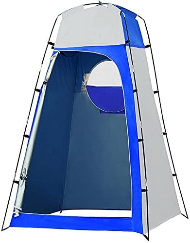 Tienda de privacidad portátil instantánea, tienda de campaña para ducha al aire libre, baño de campamento, vestuario, refugio contra la lluvia con ventana, ligero y resistente, fácil instalación