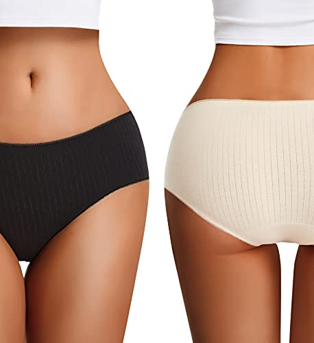 (40% OFF) Seamless Mid-Rise Full Coverage Panties 5 Pack $13.79 – Coupon Code