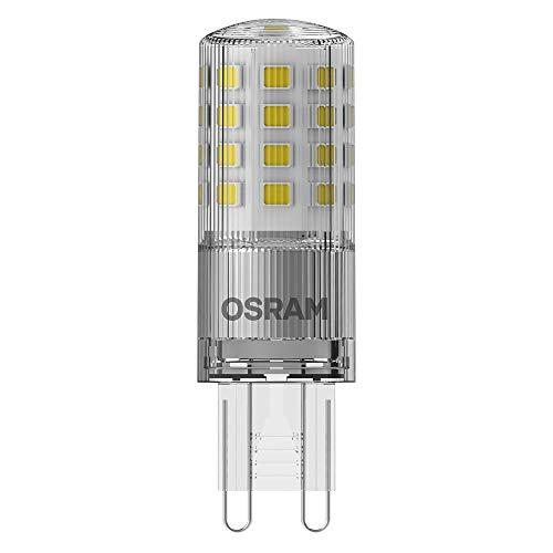 OSRAM LED Superstar PIN, Sockel: G9, Dimmbar, Warmweiß, Ersetzt eine herkömmliche 40 Watt Lampe, Klar