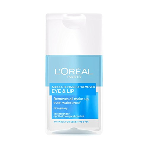 L'Oreal Paris Absolute Biphase Waterproof Make-Up Remover for Eye & Lip 125...