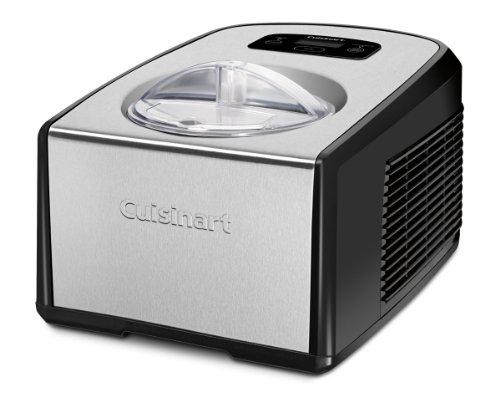 CuisinartICE-100コンプレッサーアイスクリームとジェラートメーカーシルバー1-1/2クォート