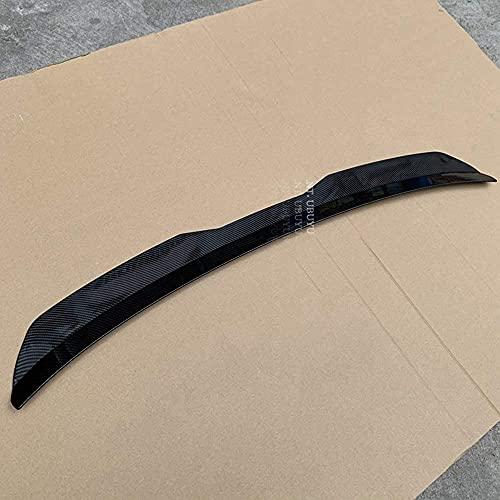 Alerón trasero de coche ABS para Seat LEON 2000-2020 3 puertas / 5 puertas para 1P MK2 5F MK3, decoración de la cola, accesorios de modificación del alerón de la tapa del maletero, duradero y hermos
